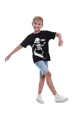 Camiseta Esqueleto Radical
