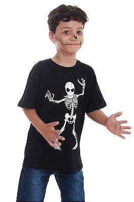 Camiseta Esqueleto Só Osso