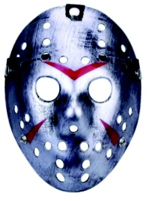 Máscara Jason Metalizada