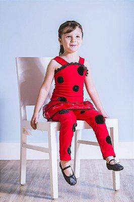 Look completo inspirado na Ladybug - Fantasia - QUIMERA KIDS