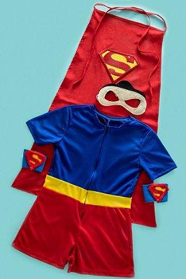 Look inspirado no Super Homem c/ acessórios - QUIMERA KIDS