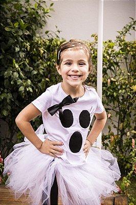 Menina Fantasma em tutu - Halloween - QUIMERA KIDS