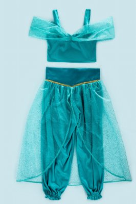 Look completo inspirado na Jasmine - Fantasia - QUIMERA KIDS