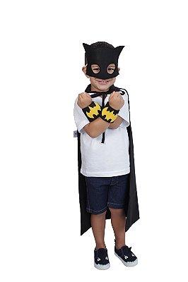 Kit inspirado no Batman, sem capa - Acessórios -QUIMERA KIDS