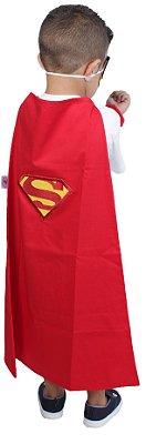 Kit inspirado no Super Homem, com capa - QUIMERA KIDS