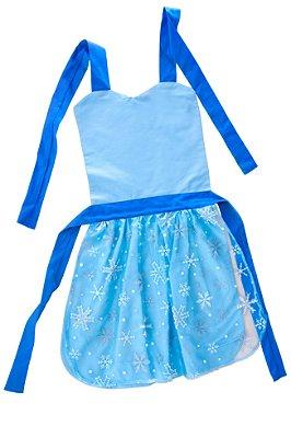 Avental lúdico inspirado na Elsa - Acessórios - QUIMERA KIDS