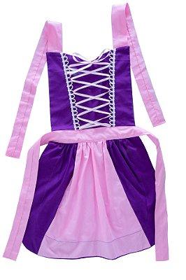 Avental inspirado na Rapunzel - Acessórios - QUIMERA KIDS