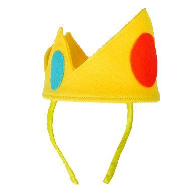Tiara inspirada na Princesa Peach Super Mário - QUIMERA KIDS