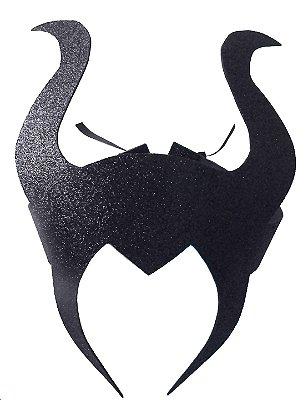 Máscara da Malévola - Halloween - QUIMERA KIDS