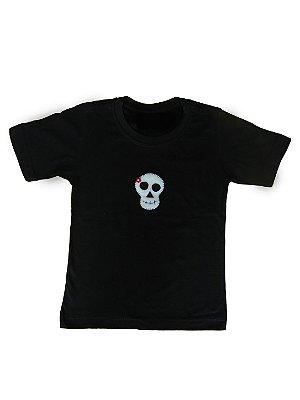 Camiseta da Caveira - Halloween - QUIMERA KIDS