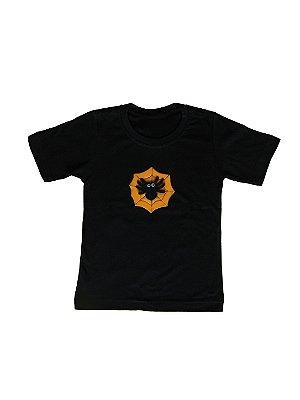 Camiseta da Aranha - Halloween - QUIMERA KIDS
