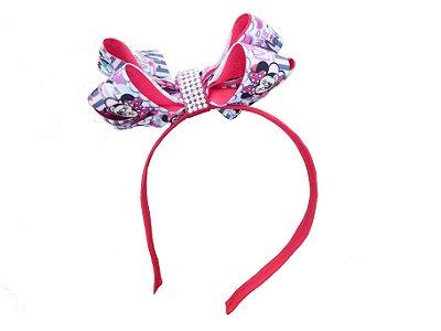 Tiara inspirada na Minnie com orelhinhas - QUIMERA KIDS
