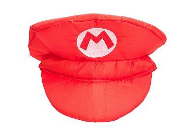 Chapéu inspirado no Mário Brós - Acessórios - QUIMERA KIDS