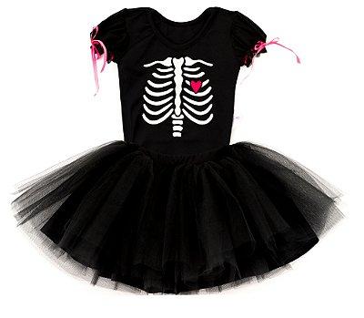Look de Esqueleto - Halloween - Quimera Kids