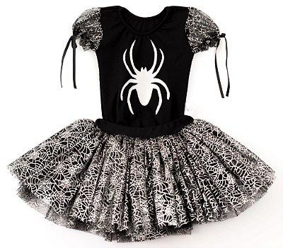 Look de Aranha - Halloween - Quimera Kids