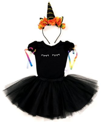 Look completo de Unicórnio - Halloween - Quimera Kids