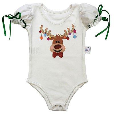 Body de Alce - Natal - Quimera Kids