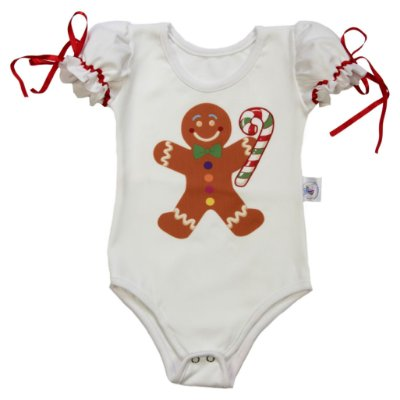 Body de Biscoito - Natal - Quimera Kids