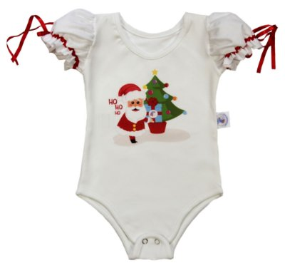 Body Papai Noel - Natal - Quimera Kids