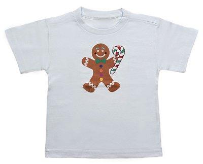 Camiseta de Biscoito - Natal - Quimera Kids