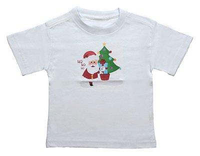 Camiseta de Papai Noel - Natal - Quimera Kids