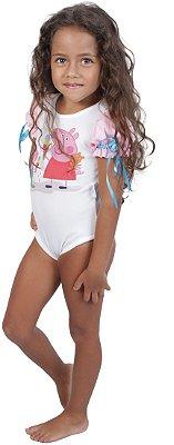 Body inspirado na Peppa Pig - Quimera Kids