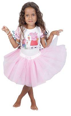 Look inspirado na Peppa Pig - Quimera Kids