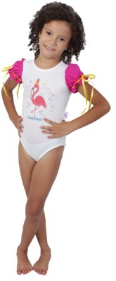 Body de Flamingo - Carnaval - Quimera Kids