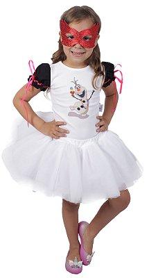 Look inspirado no Olaf - Carnaval - Quimera Kids