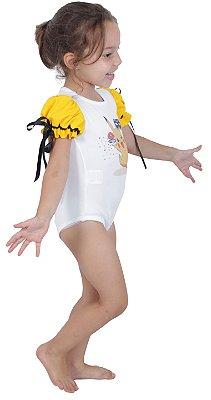 Body inspirado no Pikachu - Carnaval - Quimera Kids