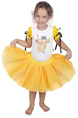 Look inspirado no Pikachu - Carnaval - Quimera Kids