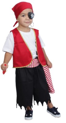 Look de Pirata - Quimera Kids