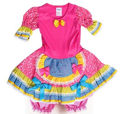 Vestido Caipira Bicho de Pé