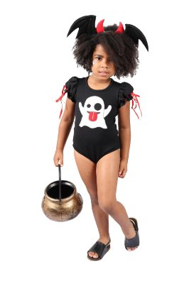 Body de Fantasma Emoji - Halloween - QUIMERA KIDS