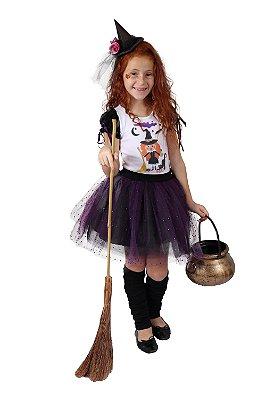 Look de Bruxa Fofinho - Halloween - QUIMERA KIDS