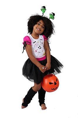 Look de Fantasma Fofinho - Halloween - QUIMERA KIDS