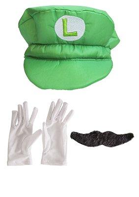 Kit de acessórios inspirado no Luigi do Super Mário - Acessórios - QUIMERA KIDS