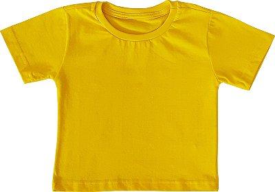 Camiseta 100% algodão - AMARELA - QUIMERA KIDS