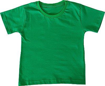 Camiseta 100% algodão - VERDE - QUIMERA KIDS