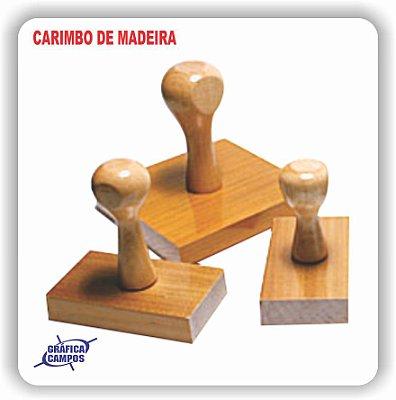 CARIMBO DE MADEIRA