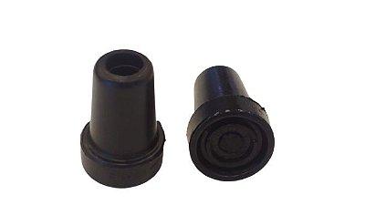 Kit com 2 ponteiras para muleta e bastão - DB-199/DB-200/DB-201/DB-302/DB-109 - Dilepé - DB-504