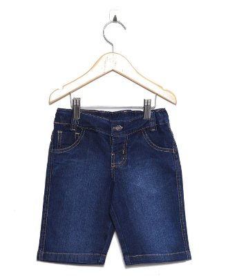 Bermuda Jeans Amaciada