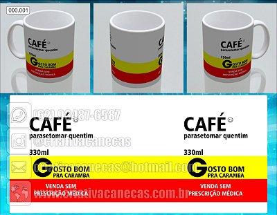 """Caneca """"Café"""""""