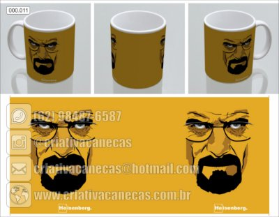 Caneca Breaking Bad - Heisenberg