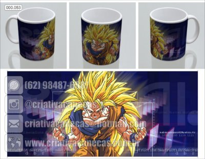 Caneca - Dragon Ball - Goku