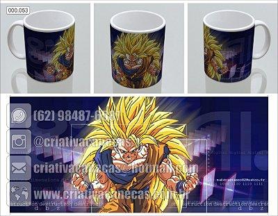 Caneca - Dragon Ball - Goku