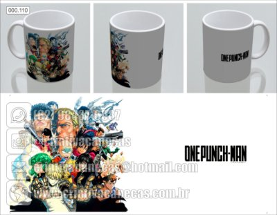Caneca - One Punch-Man