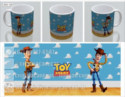 Caneca - Toy Story - Wood