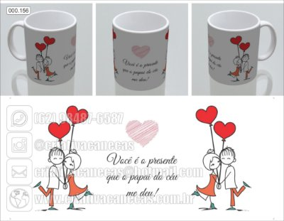Caneca - Casal apaixonado