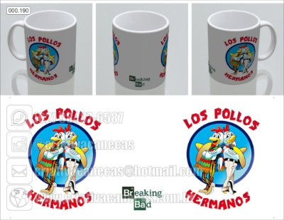 Caneca - Breaking Bad - Los Pollos Hermanos